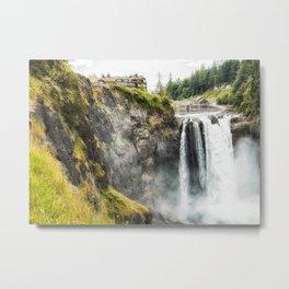 Snoqualmie Falls, Washington State Metal Print
