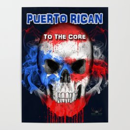 To The Core Collection: Puerto Rico Poster
