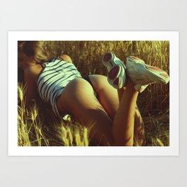 instagram sexy boobs girl pussy topless erotica butt erotic ass teen tits cute model pinup stripper Art Print