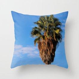 La Brea Palm Throw Pillow