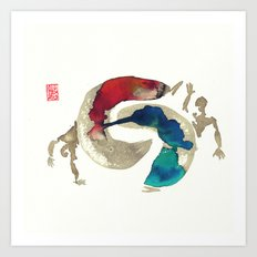 Capoeira 422 Art Print