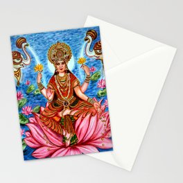 Goddess Lakshmi Stationery Cards