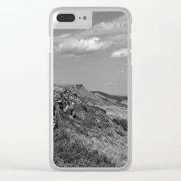 Buffalo Jump Clear iPhone Case