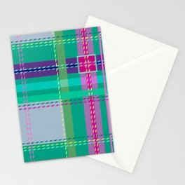Ugh Plaid Stationery Cards