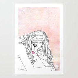 My life is over Art Print