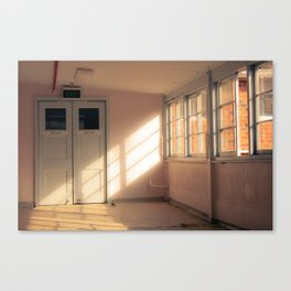 Hospital Hallway Canvas Print
