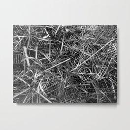 metal line Metal Print