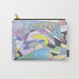 Abstract Color Doodle Carry-All Pouch