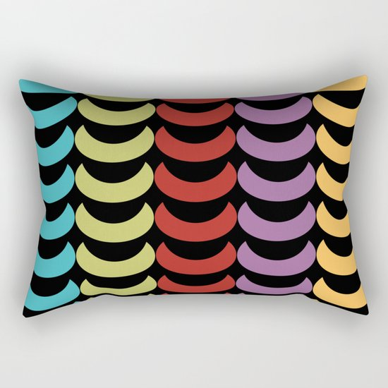 Seamless Geometric Pattern VI Rectangular Pillow