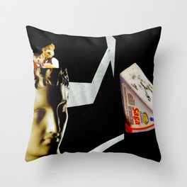Look Over There Throw Pillow