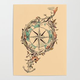bon voyage posters society6