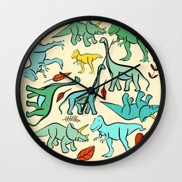 Dino meet Wall Clock