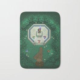 Zelda Mastesword Pixels Bath Mat