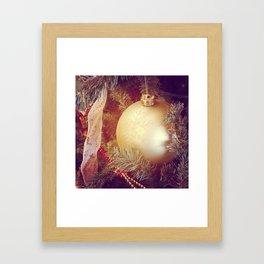 Golden Orb Framed Art Print