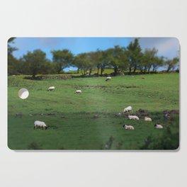 Field of Irish Sheep Cutting Board