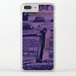 Violet Clear iPhone Case