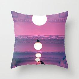Pop Girl Light Throw Pillow