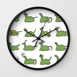 Hooray! Dinosaurs! Wall Clock