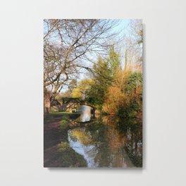 Lady's Bridge Metal Print