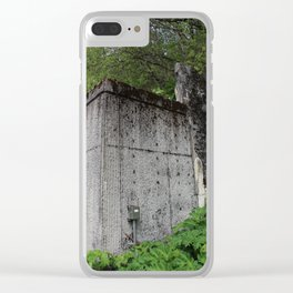 Downtown Adventure Clear iPhone Case