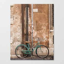 The Bicycle Canvas Print