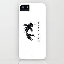 Asian koi iPhone Case