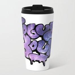 """Rogue Soul"" Space Design Metal Travel Mug"