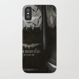 dark knight rises movie fan poster iPhone Case