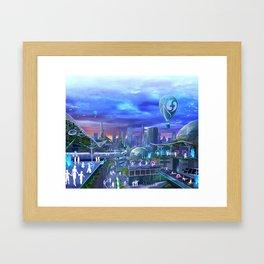 flowtopia Framed Art Print