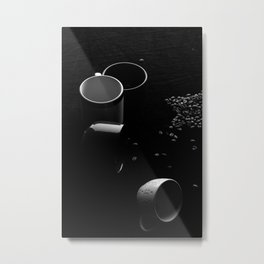 Coffee and Cups #4 Metal Print