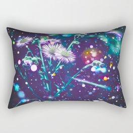 magical flowers  Rectangular Pillow