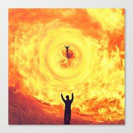 Through the Fire Canvas Print