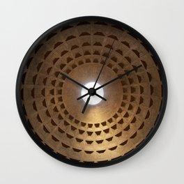 Pantheon - Rome, Italy Wall Clock
