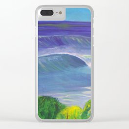 deep_water art Clear iPhone Case