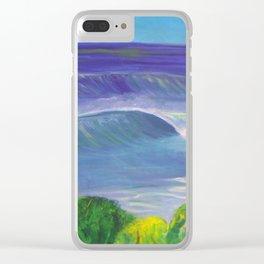 deep_water art Clear iPhone Case