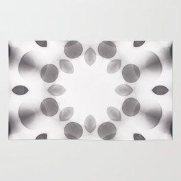Black-And-White Soft Focus Rug