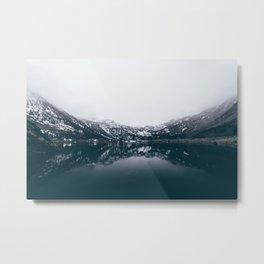 Alpine Lake Refletions Metal Print