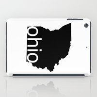 ohio iPad Cases featuring Ohio by Isabel Moreno-Garcia