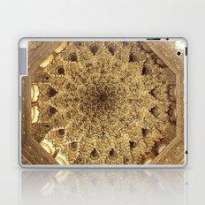 Roof. Sala de las dos Hermanas. The Alhambra Laptop & iPad Skin