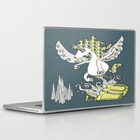 backpack Laptop & iPad Skins featuring Magical Mystery Backpack by Amy Gale