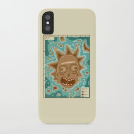 Popography: Schwifty Archipelago iPhone Case