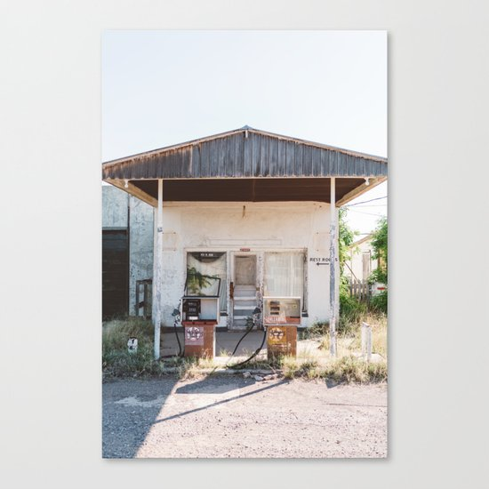 West Texas Station Canvas Print