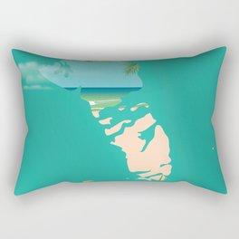 Andros Bahamas Rectangular Pillow