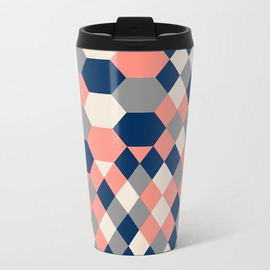 Honeycomb 2 Metal Travel Mug