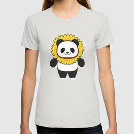 Panda with Sunflower T-shirt