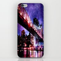 new york iPhone & iPod Skins featuring New York New York by Whimsy Romance & Fun
