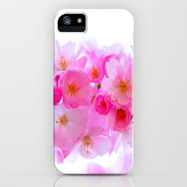 cherry tree blossom iPhone Case