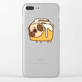 Puglie Cinnapug Clear iPhone Case