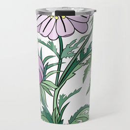 Abstract flowers branch Travel Mug