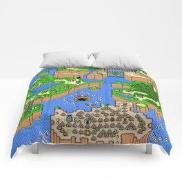 The World of Super Mario Comforters